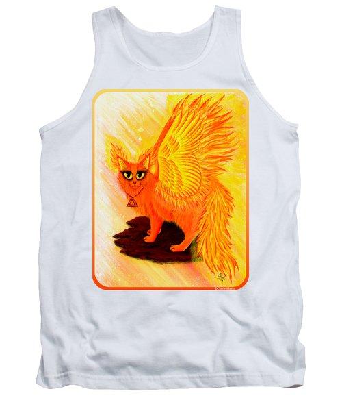 Elemental Fire Fairy Cat Tank Top