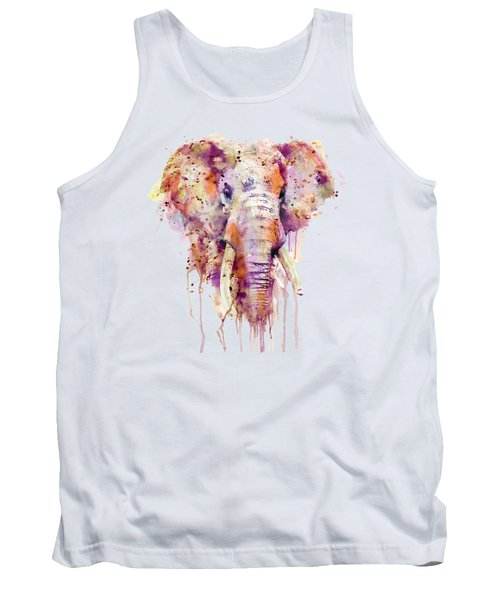 Elephant  Tank Top by Marian Voicu
