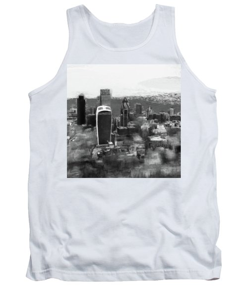 Elevated View Of London Tank Top