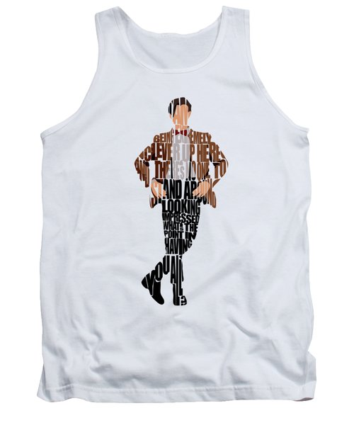 Eleventh Doctor - Doctor Who Tank Top