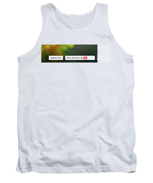 Elipses Tank Top by Lois Bryan
