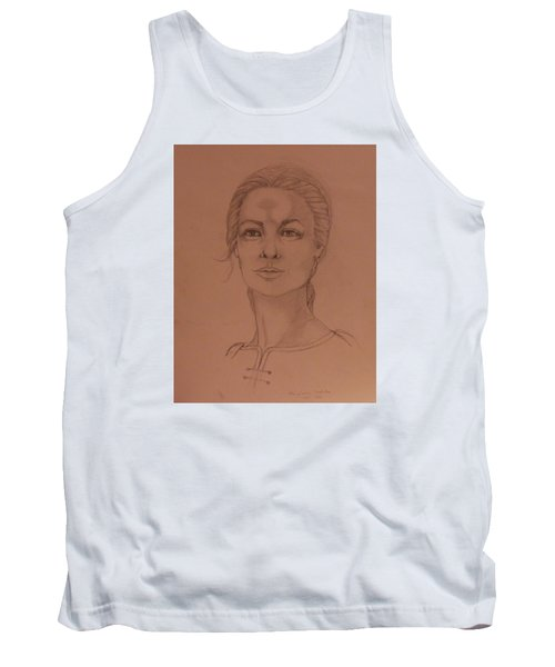 Elizabeth The White Queen Tank Top