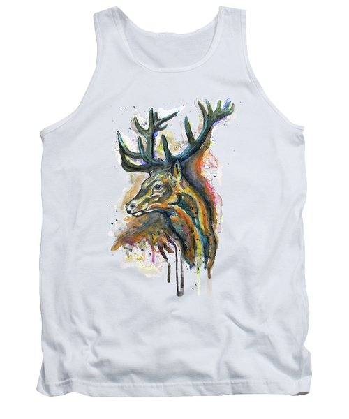 Elk Head Tank Top