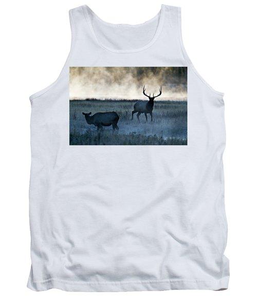 Elk In The Mist Tank Top