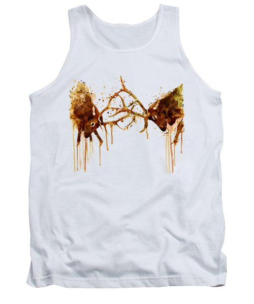 Elks Fight Tank Top by Marian Voicu