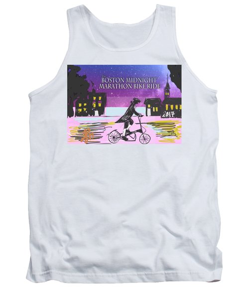 Elliptigo Arc On The Midnight Ride Tank Top