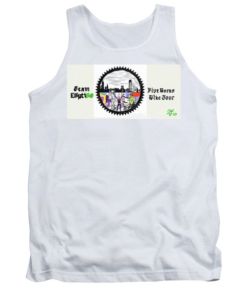 elliptiGO meets the 5 boros bike tour Tank Top