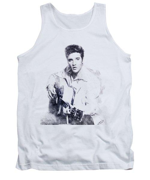 Elvis Presley Portrait 01 Tank Top