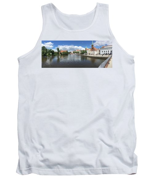 Embankment Of Trave In Luebeck Tank Top