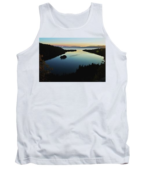 Emerald Bay, Lake Tahoe, Dawn Tank Top