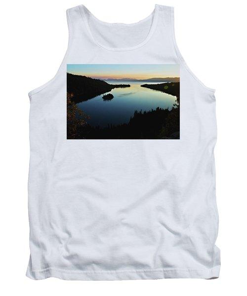 Emerald Bay, Lake Tahoe, Dawn Tank Top