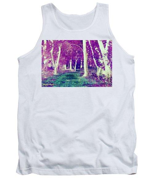 Emerald Path Tank Top