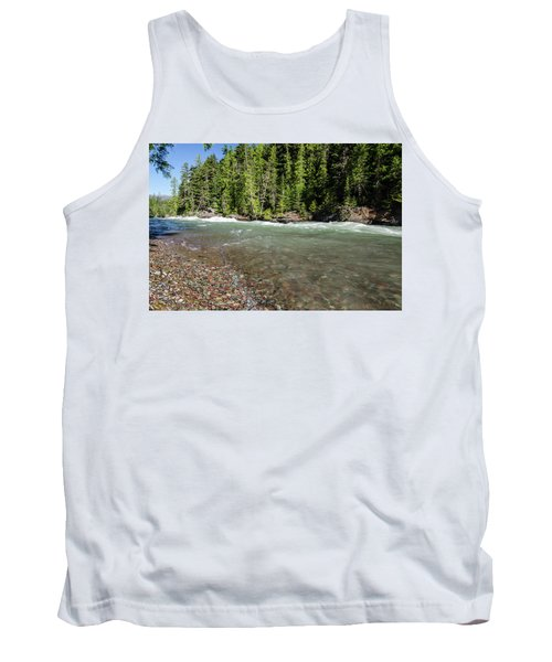 Emerald Waters Flow Tank Top