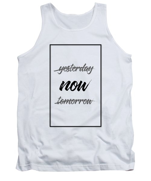 Emotional Art Now - Black And White Tank Top
