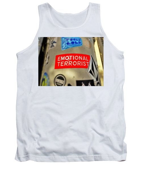 Emotional Terrorist In New York  Tank Top