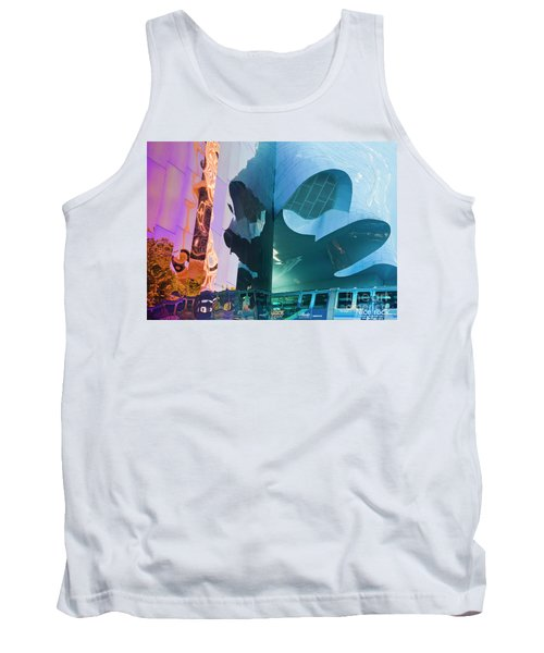 Tank Top featuring the photograph Emp Psychadelic by Chris Dutton