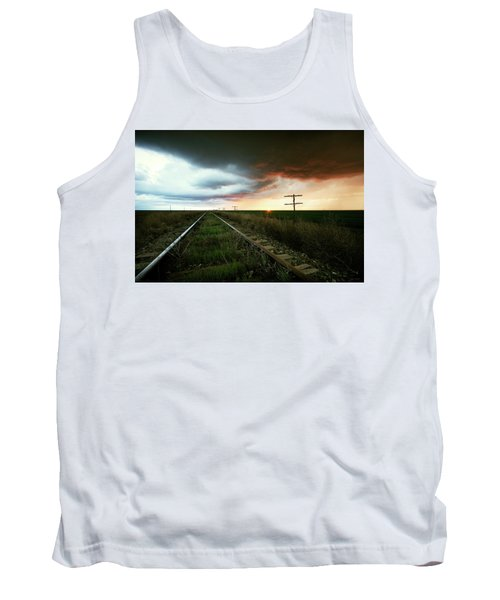 End Of A Stormy Day Tank Top