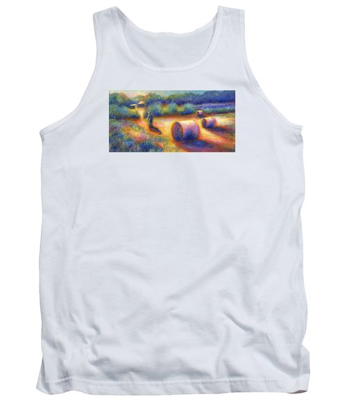 End Of A Well Spent Day Tank Top by Retta Stephenson
