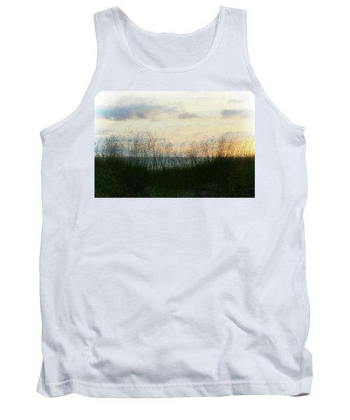 Tank Top featuring the photograph End Of Day At Pentwater by Michelle Calkins