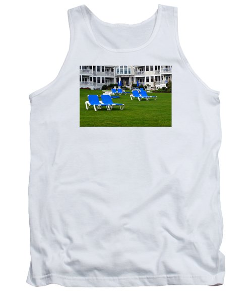 Tank Top featuring the photograph End Of Season 3 by Richard Ortolano