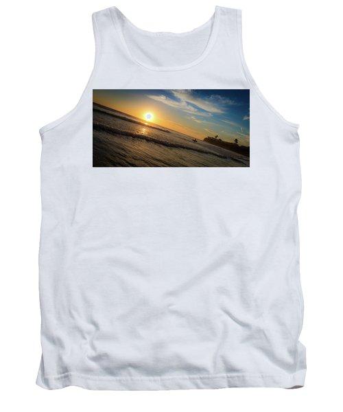 End Of Summer Sunset Surf Tank Top