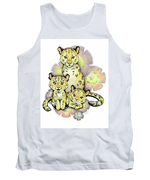 Endangered Animal Amur Leopard Tank Top