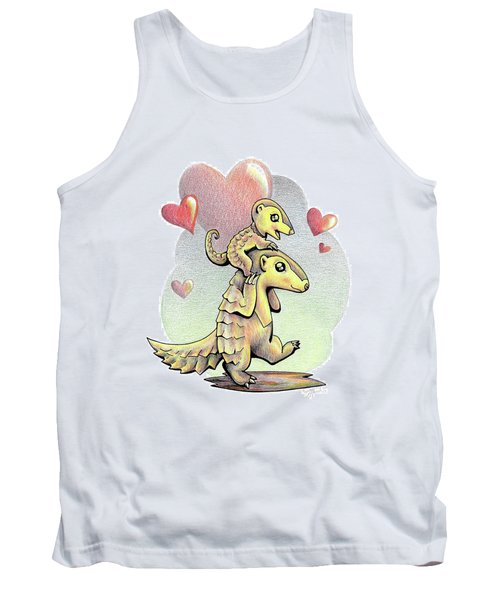 Endangered Animal Pangolin Tank Top