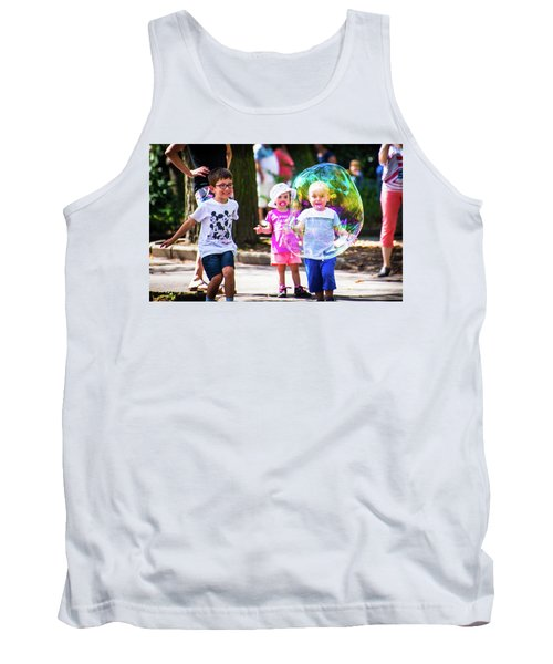 Tank Top featuring the photograph Engulfed by Alex Lapidus