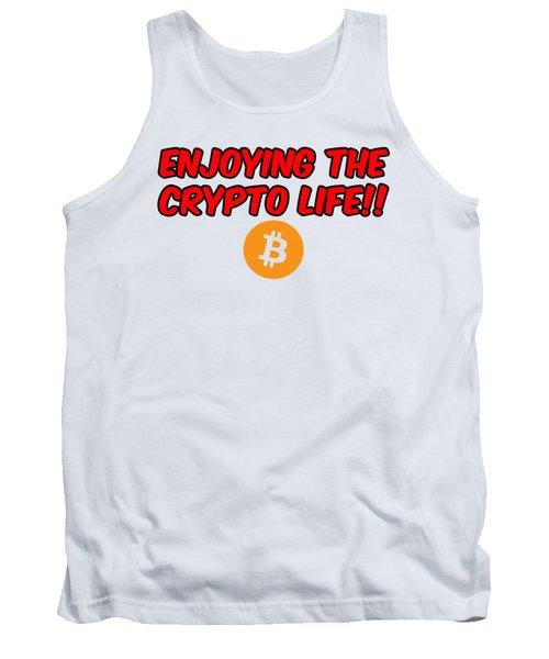 Enjoy The Crypto Life #3 Tank Top