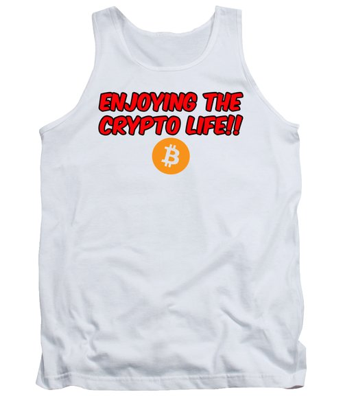 Enjoy The Crypto Life #3 Tank Top
