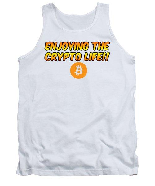 Enjoying The Crypto Life#1 Tank Top