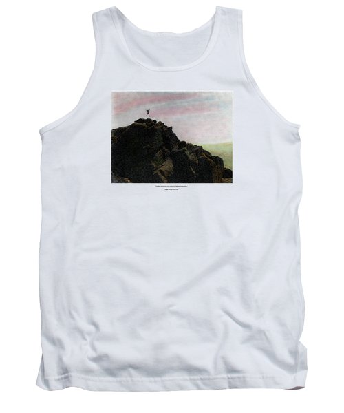 Enthusiasm Poster Tank Top