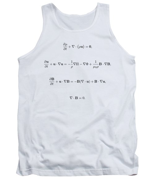 Tank Top featuring the photograph Equation by Jean Noren