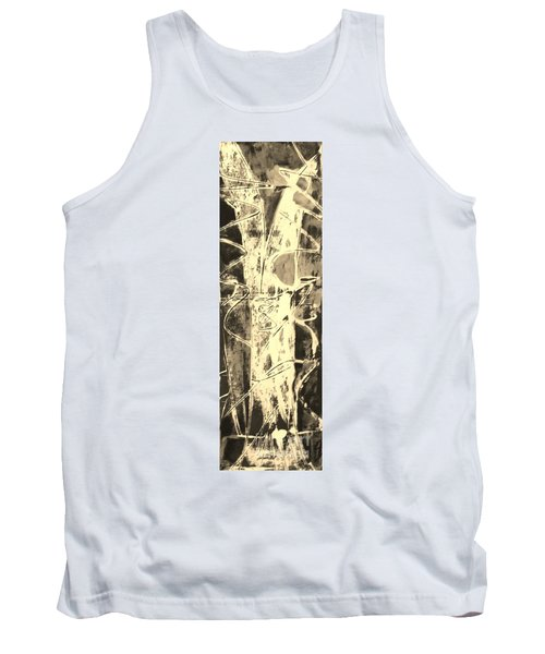Tank Top featuring the painting  Equity by Carol Rashawnna Williams