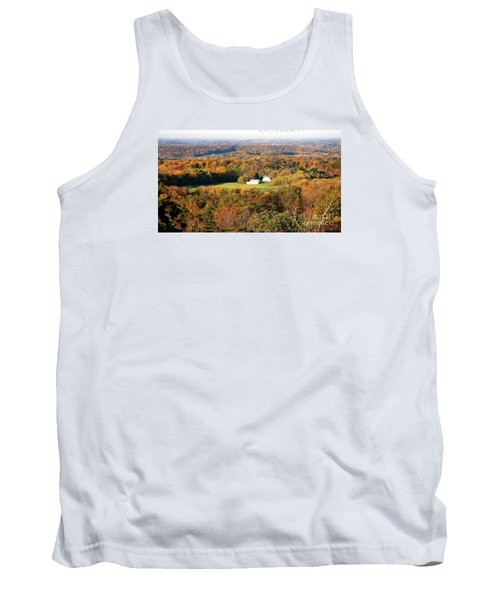 Tank Top featuring the photograph Erin Wisconsin  by Ricky L Jones