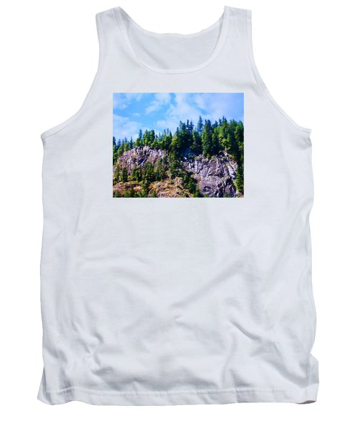 Tank Top featuring the photograph Escarpment 2 by Timothy Bulone