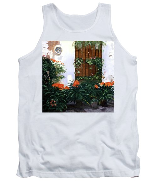 Tank Top featuring the painting Espana by Lynne Reichhart