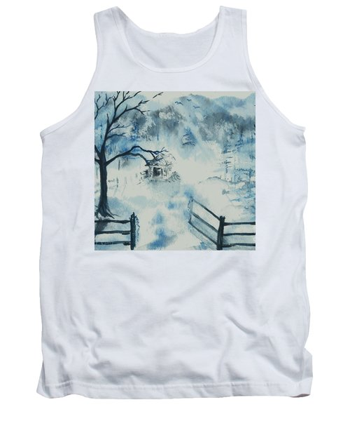Ethereal Morning  Tank Top