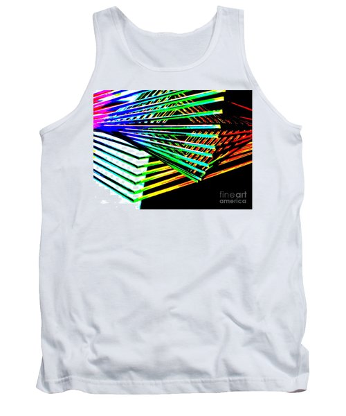 Euclids Geometry Tank Top by Tim Townsend