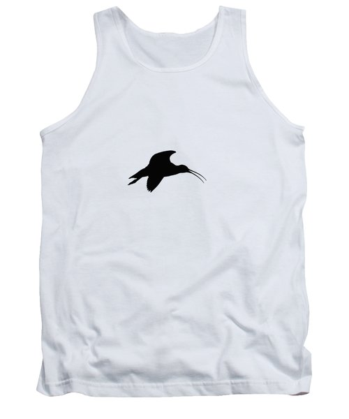 Eurasian Curlew Graphical Transparent Tank Top
