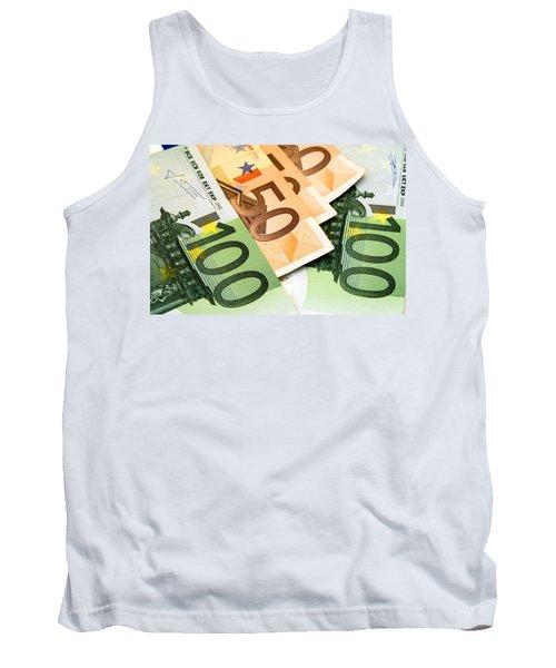 Euro Banknotes Tank Top