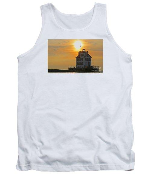 Evening Lighthouse 2 Tank Top