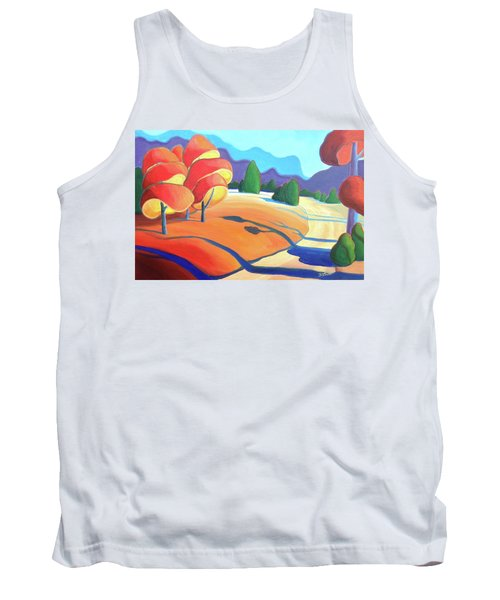 Evening Path Tank Top