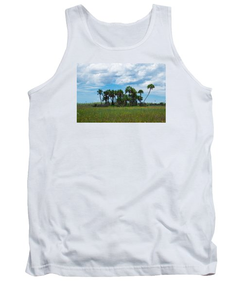 Everglades Landscape Tank Top by Christopher L Thomley