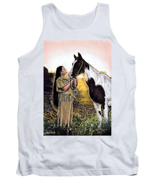 Everlasting Love A Maiden And Spot Tank Top