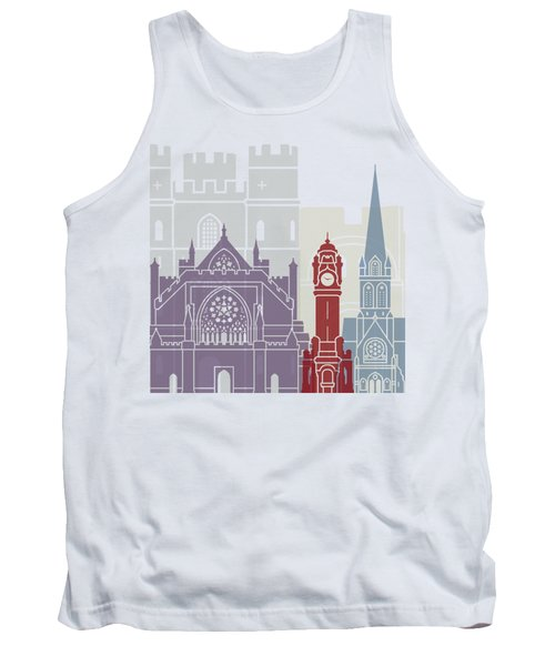 Exeter Skyline Poster Tank Top