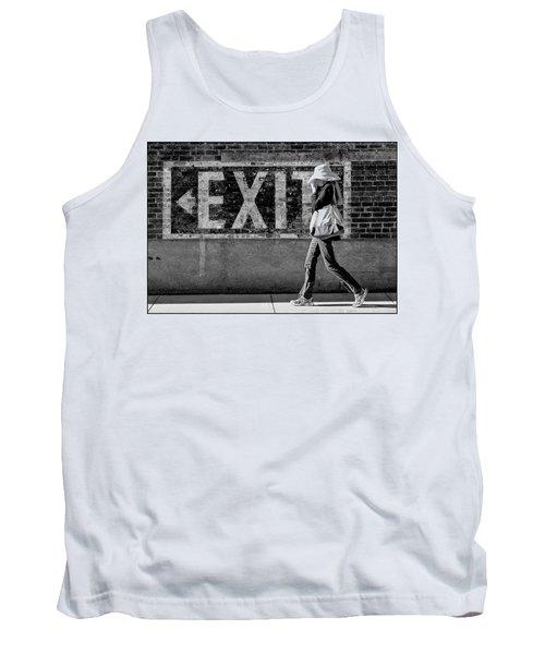 Exit Bw Tank Top