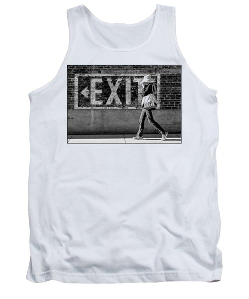 Exit Bw Tank Top