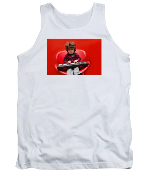 Exploring Piano Tank Top