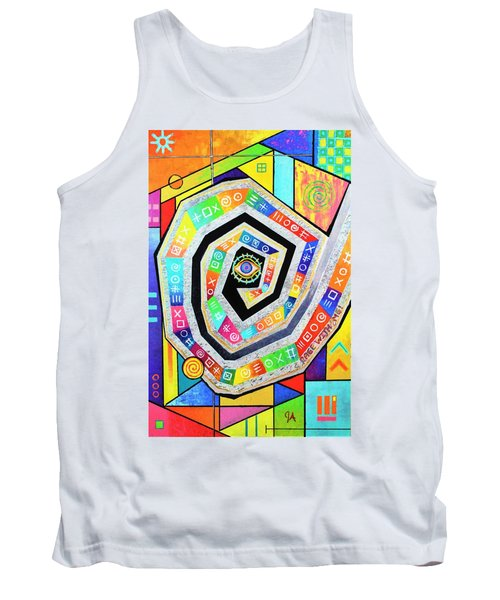 Eye Of The Storm Tank Top by Jeremy Aiyadurai